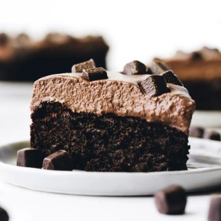 Brownie Mousse Cake