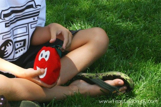 Hot Tomato for Veggie Tales Birthday Party games