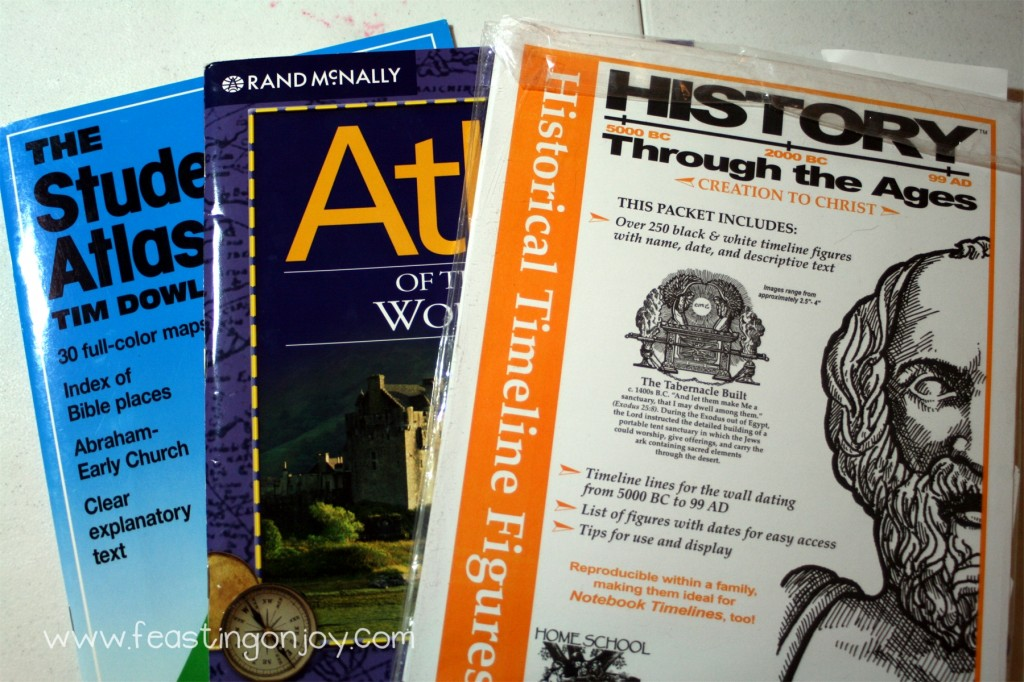 Mystery of History Supplemental materials