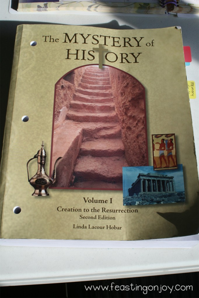 Mystery of History Volume 1 book