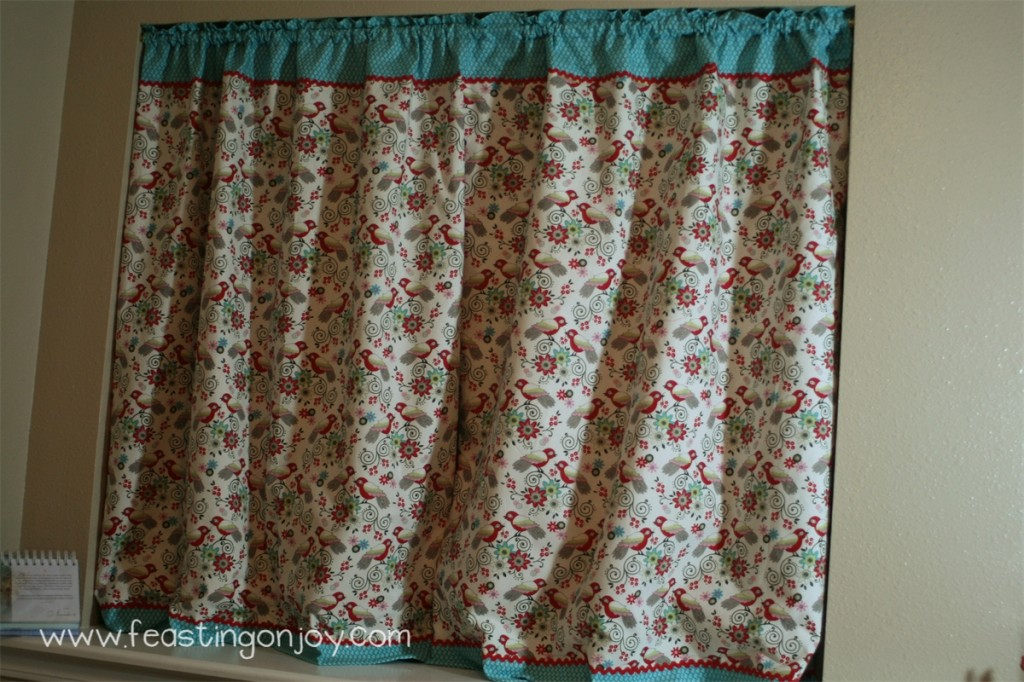 Full Front Craft Room Curtains