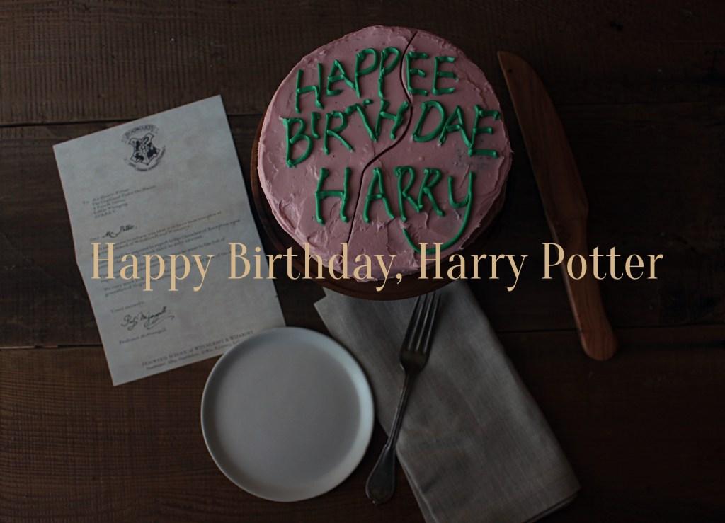 Harry Potter Birthday Cake at http://www.feastofstarlight.com/2015/07/26/happy-birthday-harry-potter/