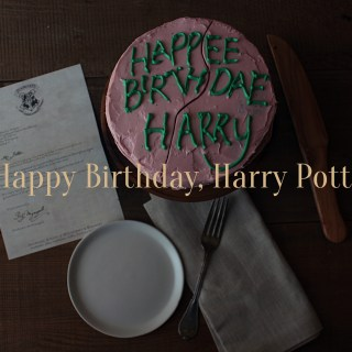 Hogwarts, Recipes from, Food from Hagrid, Harry's Birthday Cake