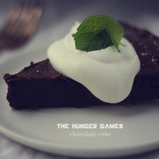 Chocolate cake from The Hunger Games, Recipes from The Hunger Games