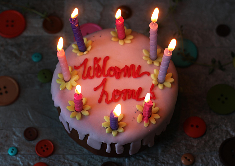 Brilliant Coraline Welcome Home Cake Feast Of Starlight Funny Birthday Cards Online Inifodamsfinfo