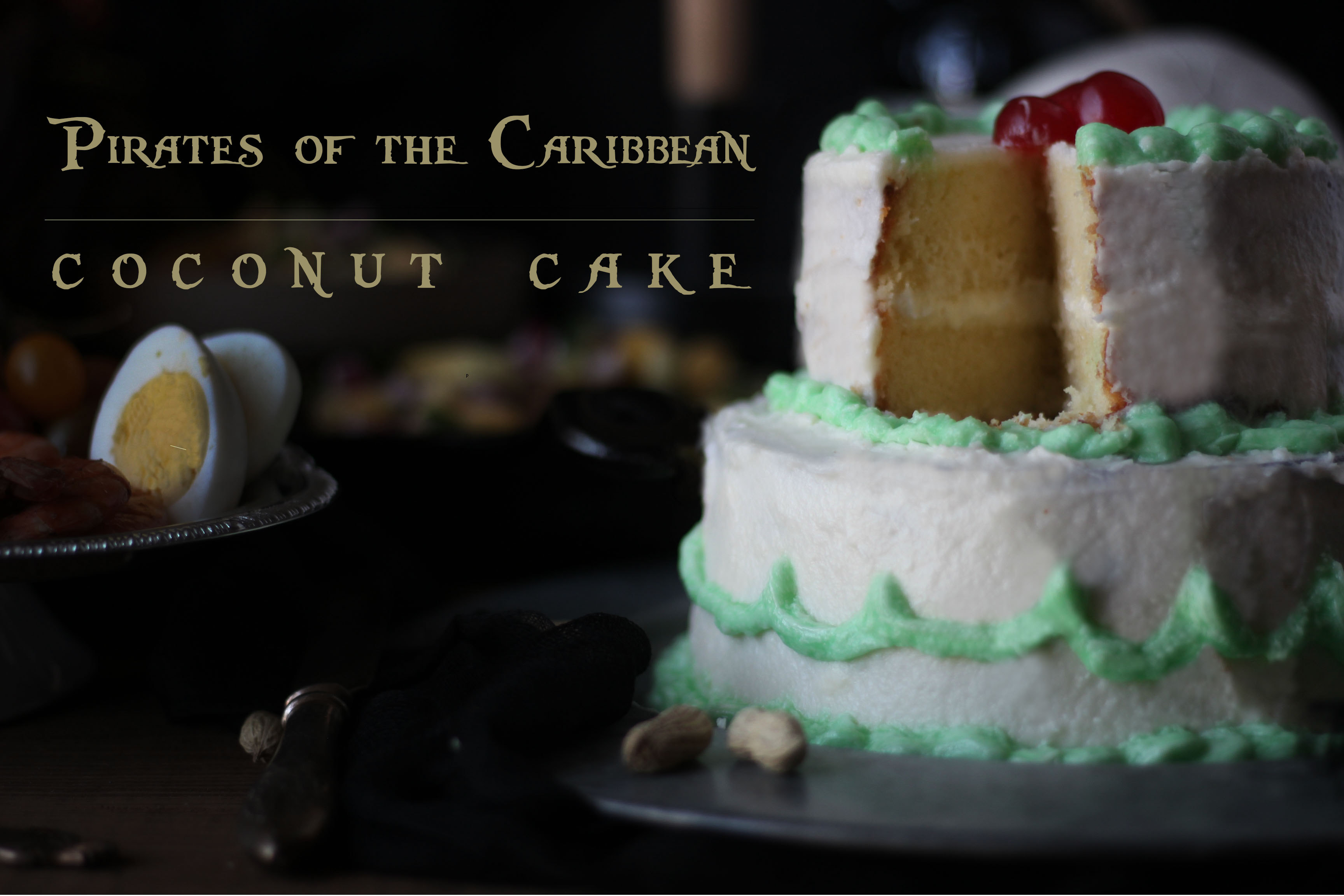 pirates of the caribbean coconut cake feast of starlight