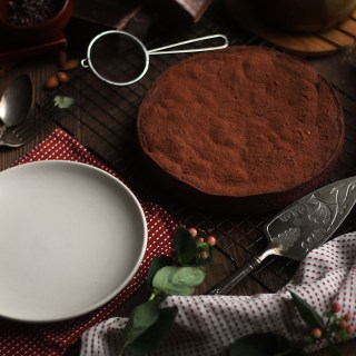 Chocolat: Flourless Chocolate Almond Torte