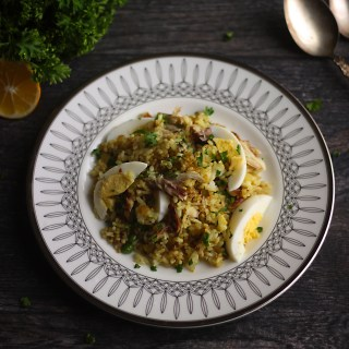 Recipe for kedgeree, Food from Downton Abbey
