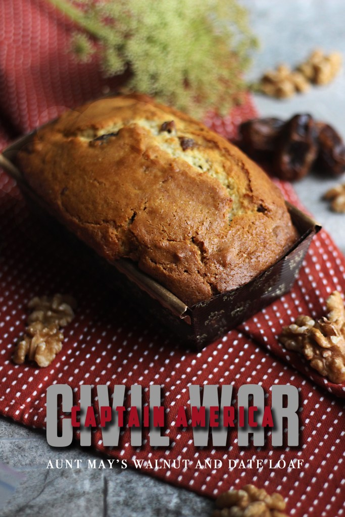 Captain America: Civil War - Aunt May's Walnut and Date Loaf