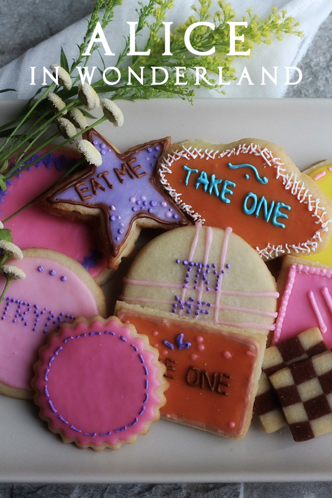 Alice In Wonderland Quot Eat Me Quot Cookies Feast Of Starlight