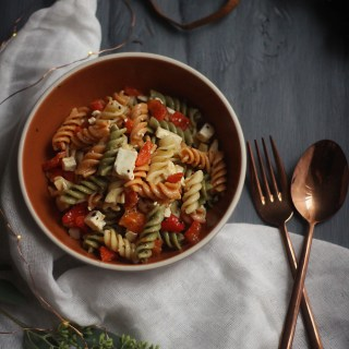 Stranger Things: Tri-Colored Pasta Salad Recipe