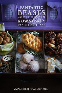 Fantastic Beasts and Where to Find Them Jacob Kowalski's Pastry Suitcase
