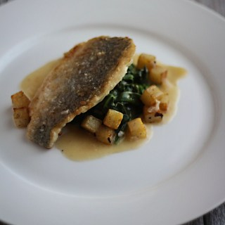 Romatics Anonymous: Sea Bream with Crispy Potatoes and Beurre Blanc