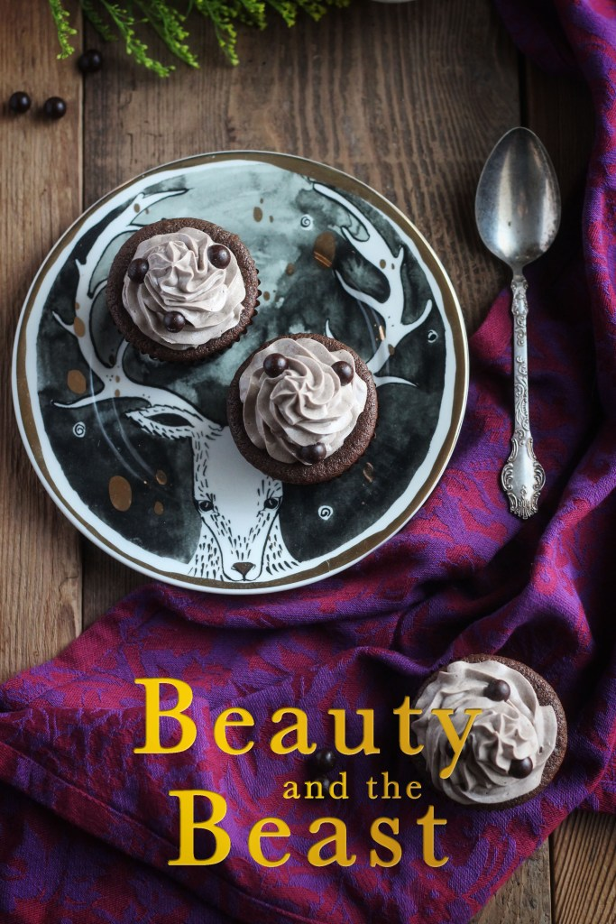 Beauty and the Beast: The Master's Cupcake with Grey Stuff Recipe