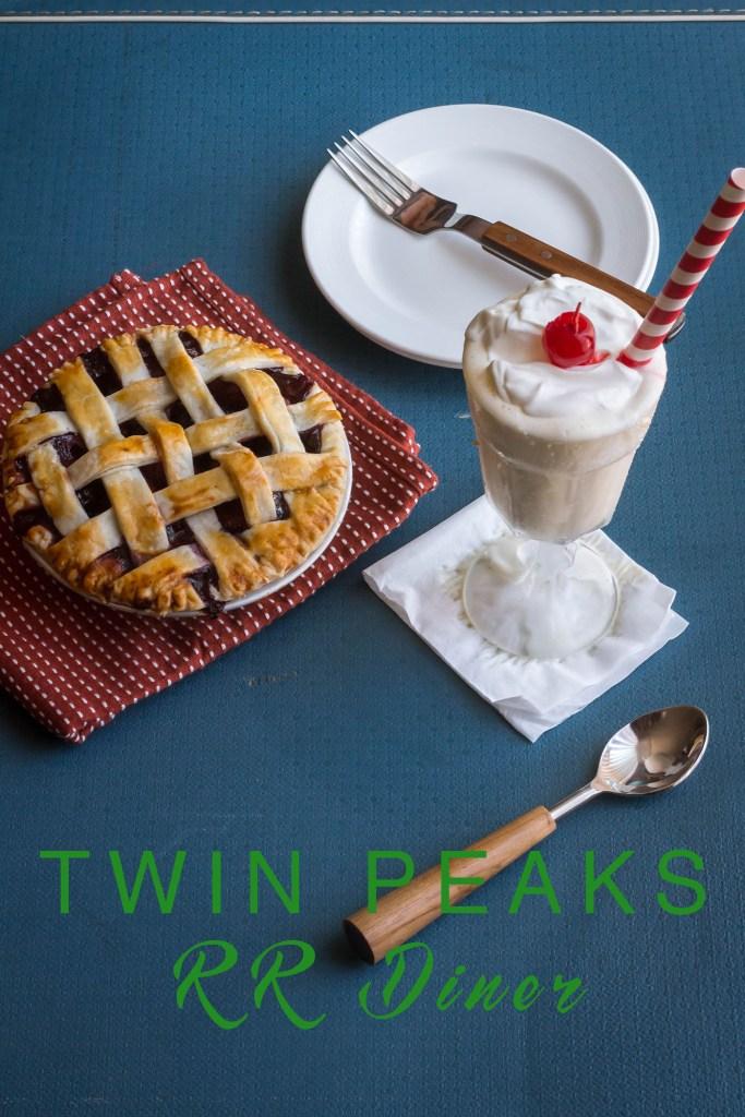 Twin Peaks - RR Diner - Three Berry Pie and Malt Milkshake Recipe