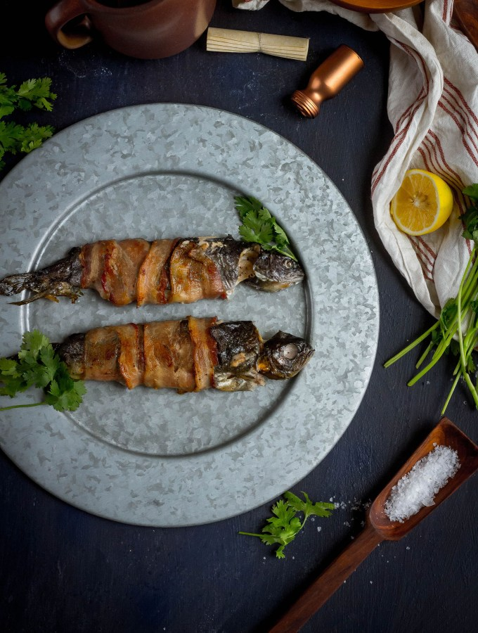 Game of Thrones: Bacon Wrapped Trout Recipe