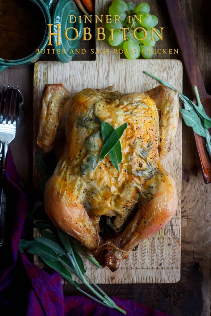 Hobbit Dinner Feast - Roast Chicken Recipe