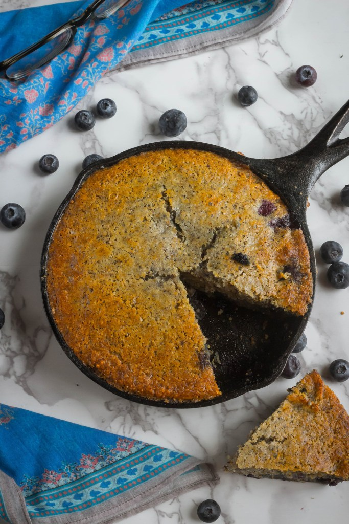 Hello, My Name is Dori: Blueberry Cornbread recipe