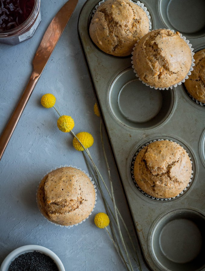 This Is Us: Healthiest Poppy Seed Muffins recipe