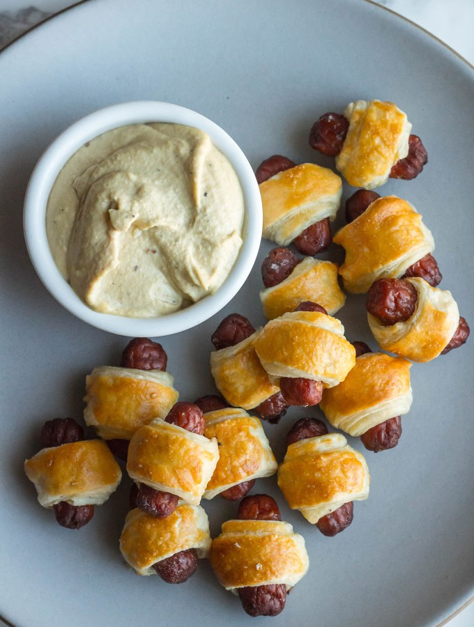 This Is Us: Pigs in a Blanket with Nut Cheese recipe