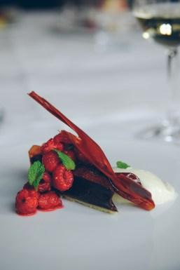 Valrhona chocolate tart