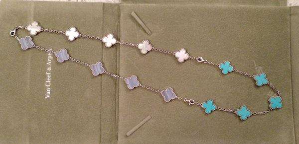 VCA bracelets necklace