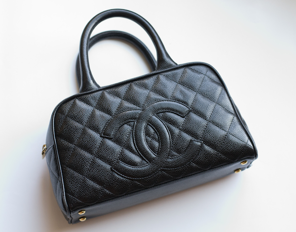 8ba6f9ec648b ... today I would start with one that is not only one of my favorites, but  also the oldest in my closet: this little Chanel black caviar leather  bowler bag.