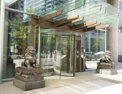 Shangri La Vancouver outside
