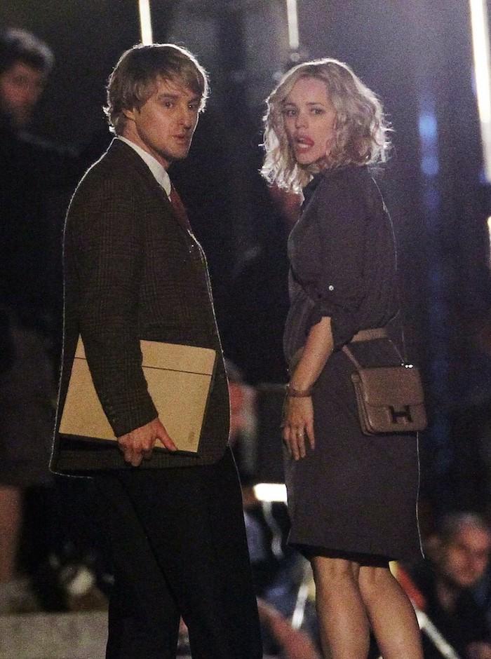 Rachel MacAdams and Owen Wilson Film For New Woody Allen Film