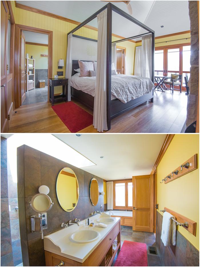 Emirates Wolgan Valley Bedroom Bathroom