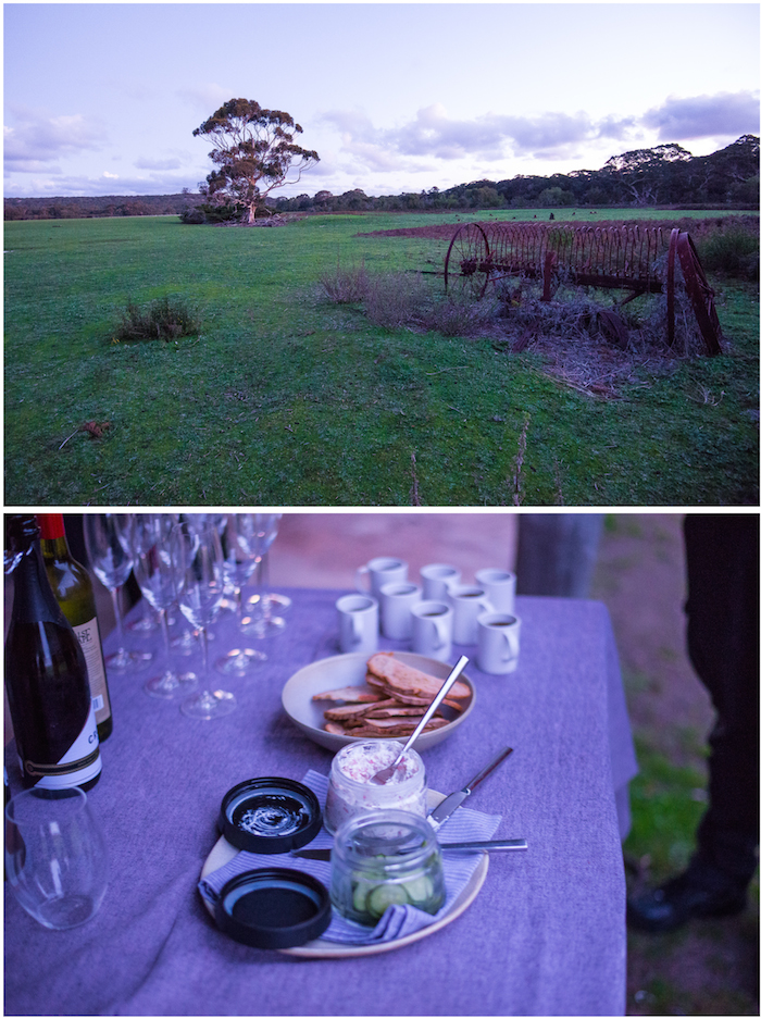 Southern Ocean Lodge Evening Canapes