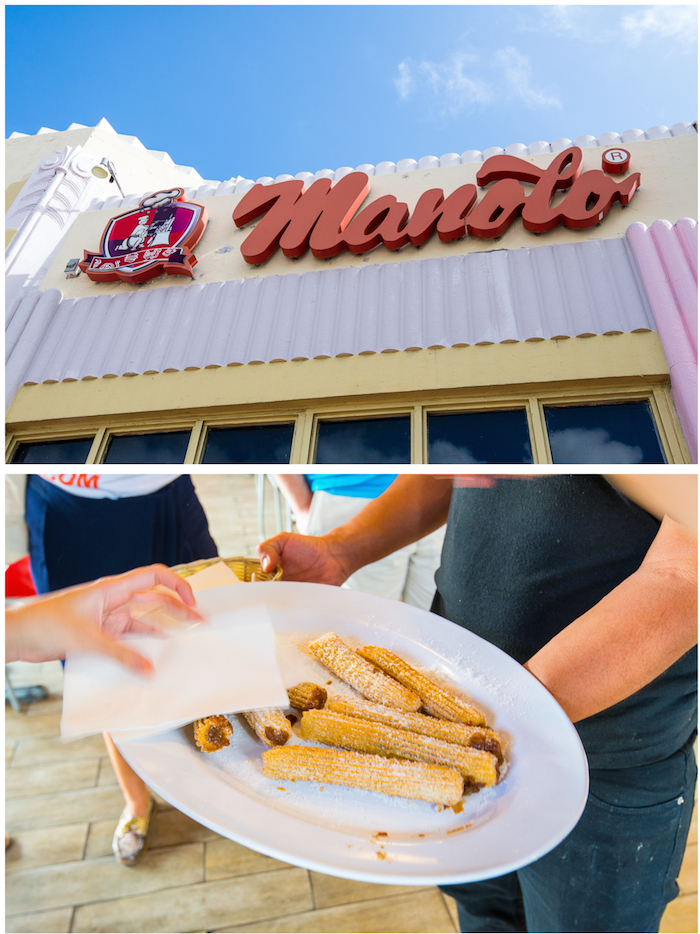 Food Tour Miami Beach Manolos Churros