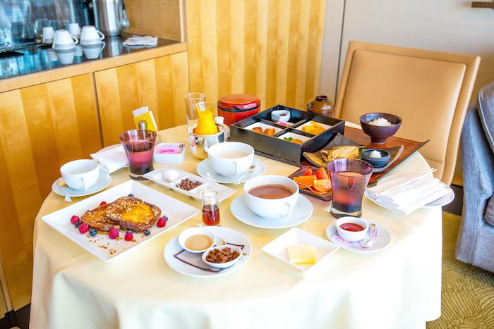 Four Seasons Tokyo Room Service