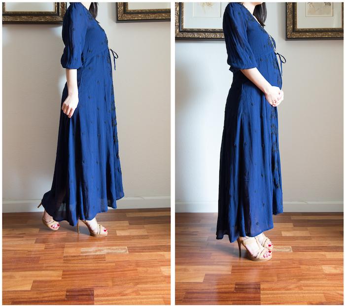 Free People Embroidered Maxi