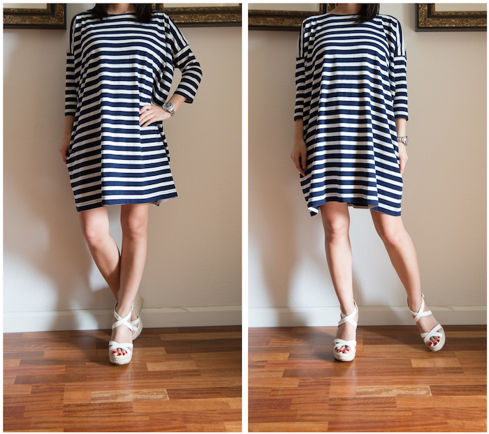 Gap Relaxed Fit Dress