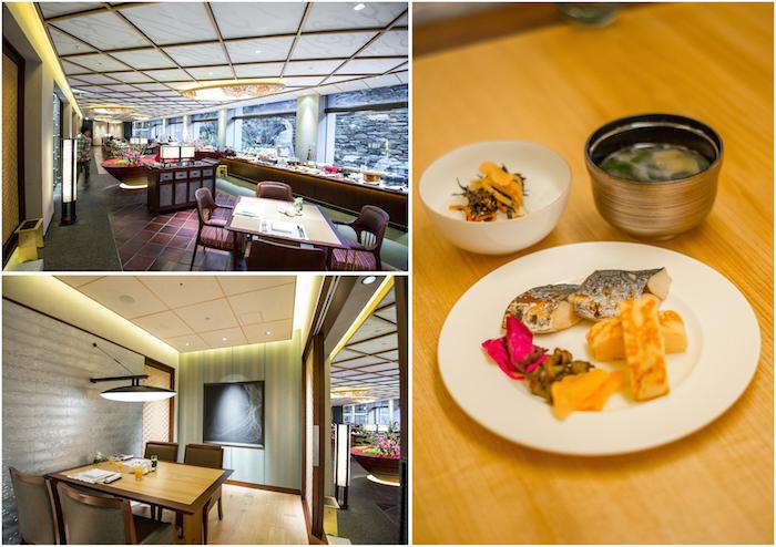RItz Carlton Kyoto Breakfast Private Room Spread