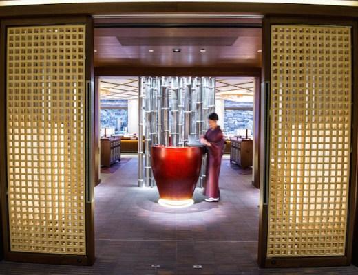 RItz Carlton Kyoto Dining Entrance