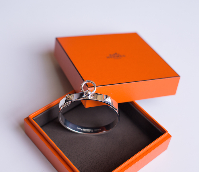 Hermes Narrow Sterling Silver CDC