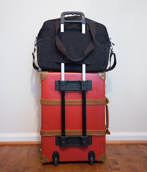 Kipling on Luggage Back
