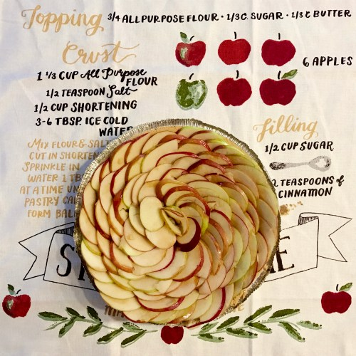 Fall Dinner Party - Apple Pie