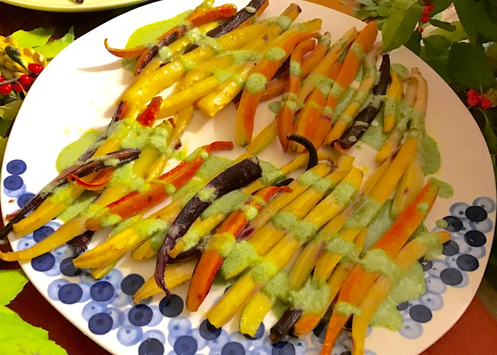 Fall Dinner Party - Heirloom Carrots