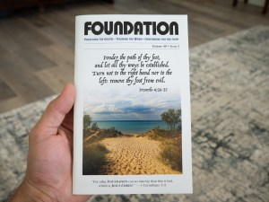 Foundation Magazine