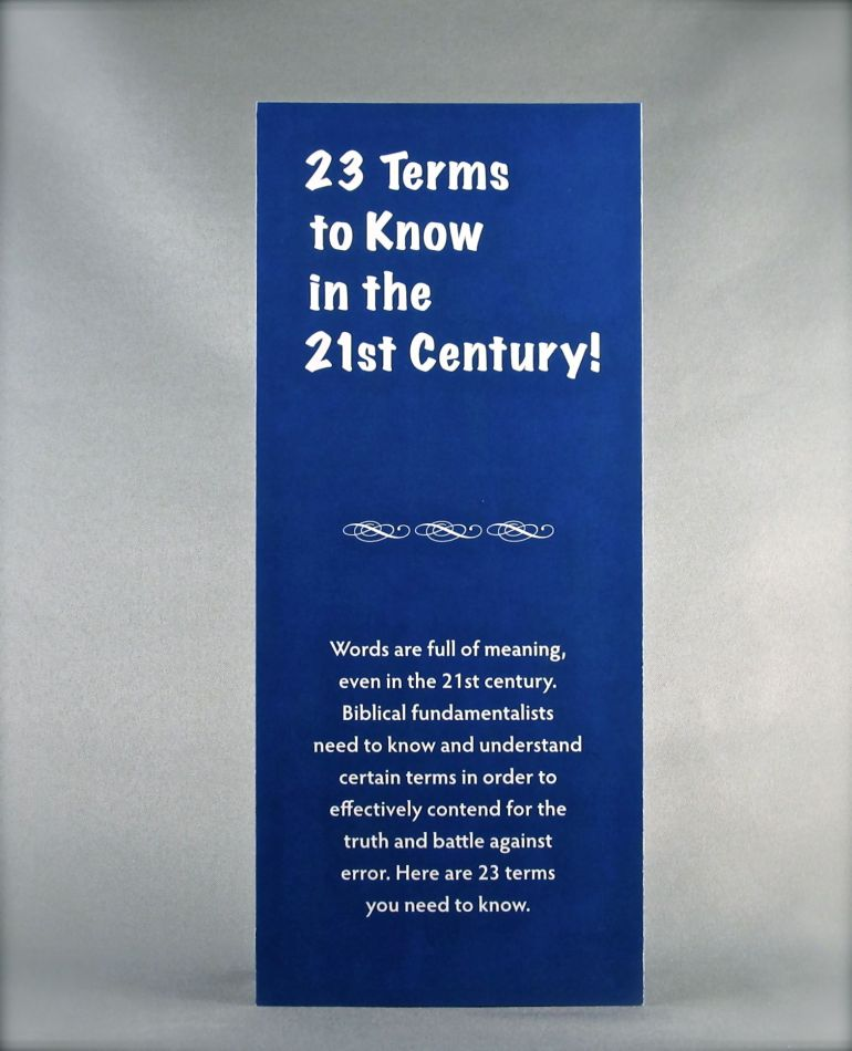 23 Terms to Know in the 21st Century!