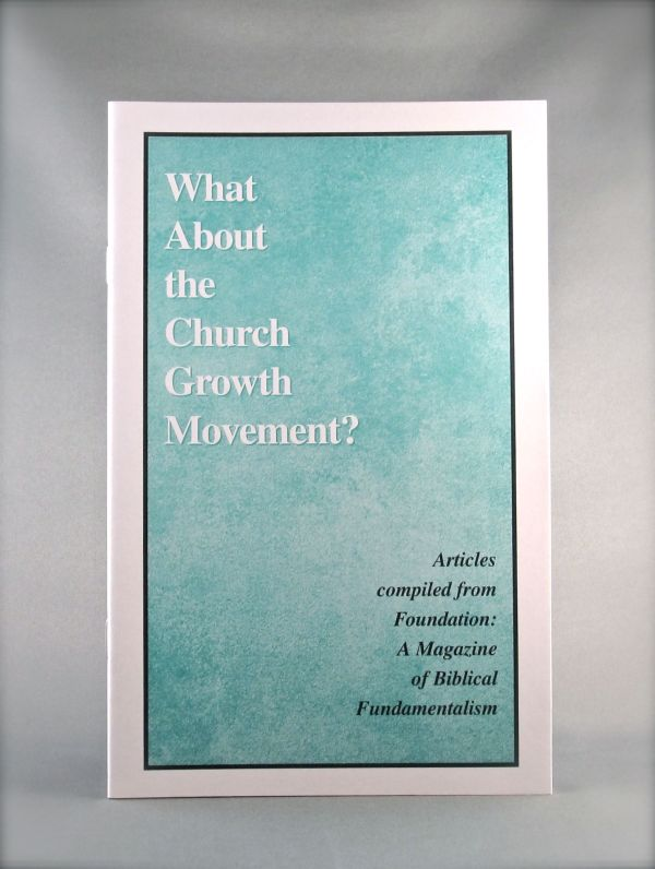 What About the Church Growth Movement?