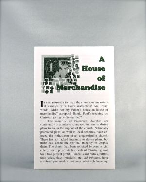 A House of Merchandise