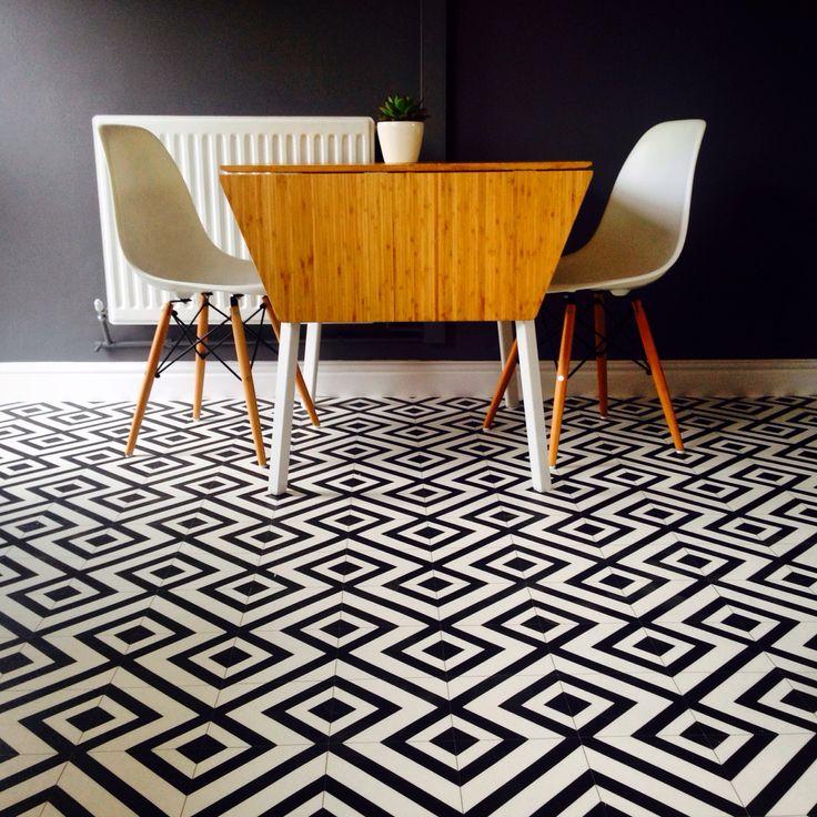 Granada Black Sheet Vinyl Flooring 3M Wide: £16 per m2