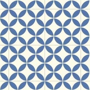 Ronda Blue Sheet Vinyl Flooring