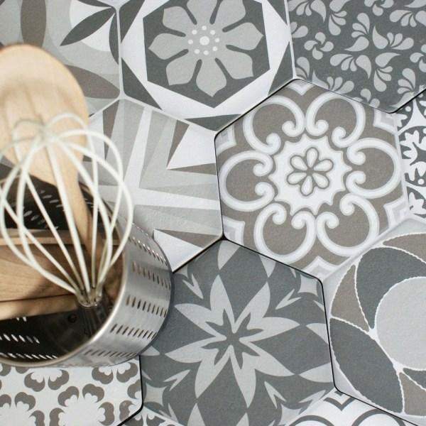 Octet 1 Porcelain Tiles