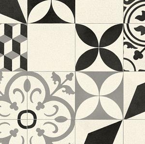 White Fez Vinyl Flooring Detail