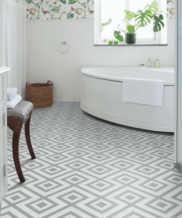 Granada Grey Sheet Vinyl Flooring